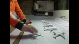 Airport Diorama Designs Mat Unboxing