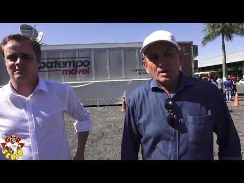 Prefeito Ayres Scorsatto e Vereador Marcelo agradece o Deputado Jorge Caruso pela Carreta do Poupa Tempo em Juquitiba
