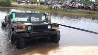 Hummer Submerged Underwater - Part 2