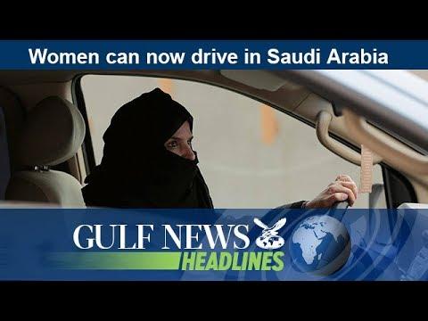Women can now drive in Saudi Arabia – GN Headlines