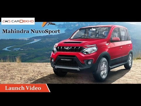 Mahindra NuvoSport | Launch Video