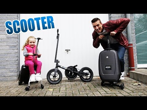 Sind diese Scooter ihr Geld wert? | Micro Luggage Koffer Scooter  Unboxing - Review - Test [Deutsch]
