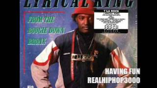 T La Rock & Greg Nice - Having Fun (Hiphop / Hip Hop / Rap) Mantronik / Diamond Two / DJ Louie Lou