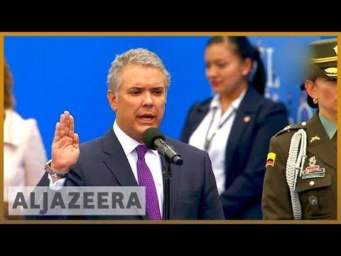 🇨🇴 Ivan Duque sworn in as Colombia's next president | Al Jazeera English