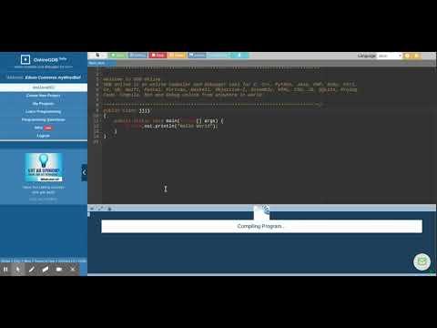 GDB online Debugger   Compiler - Code, Compile, Run, Debug online C, C++