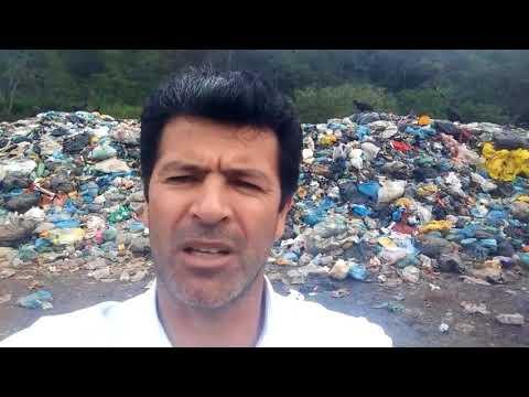 Vereador Moyses Sikorski faz Denúncia do Lixão de Miracatu