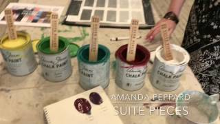 How To Easily Mix Custom Chalk Type Paint Colors