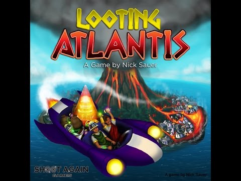 UndeadViking Videos - Looting Atlantis - Grab the loot before the volcano eats you!