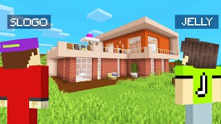 I Found My LOST Friend And BUILT A MANSION! (Minecraft)