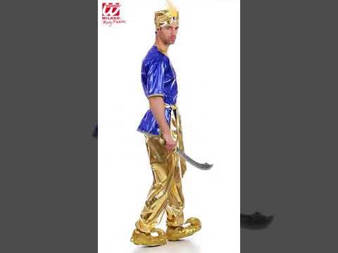 Disfraz de sultán árabe