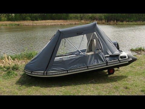 Ходовой тент для лодок серии Merlin («Кречет»)