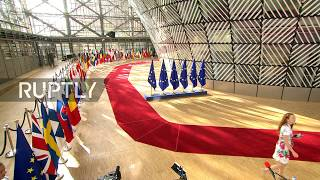 LIVE: EU Council on migration, security and economy in Brussels, day 2: arrivals and doorsteps