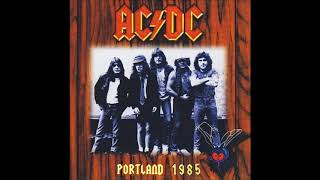 AC / DC - 03 - Shake your foundations (Portland - 1985)