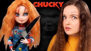 Дочь куклы-убийцы Чаки   Обзор ООАК куклы