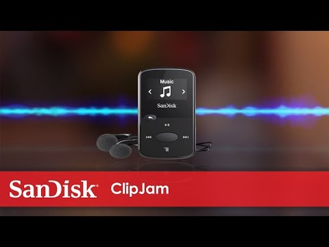 Reproductor MP3 SanDisk Clip Jam