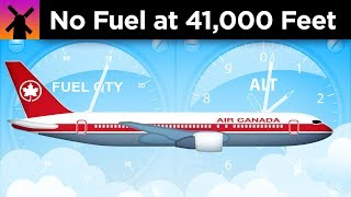 An Airplane Ran Out of Fuel at 41,000 Feet. Here
