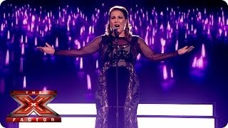 Sam Bailey sings Something by The Beatles - Live Week 6 - The X Factor 2013