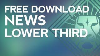 Vegas Pro News Template Free Free Online Videos Best Movies Tv