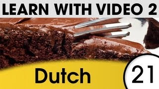 Learn Dutch With Pictures And Video - Dutch Recipes For Fluency