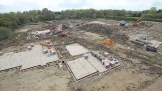 House Building Time Lapse | Kinsbrook | Brooks Green | West Sussex | January to October 2012