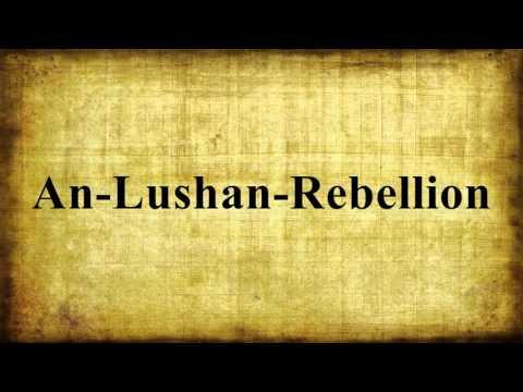 An-Lushan-Rebellion