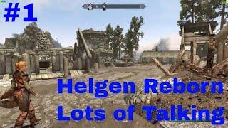 Helgen Reborn Episode 1 lots of talking Skyrim Special Edition Mod Showcase by Mike Hancho