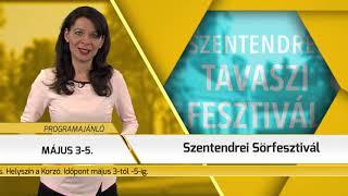 Programajánló / TV Szentendre / 2019.04.11.