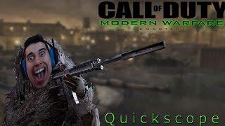 OMG! DIE GEILSTE MAP ZUM QUICKSCOPEN Modern Warfare remastered   CezAaEneS42