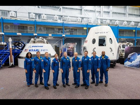 NASA Names Nine American Hero Astronauts For SpaceX, Boeing Missions