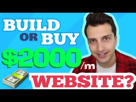 Build or Buy a $2000 a Month Affiliate Website?