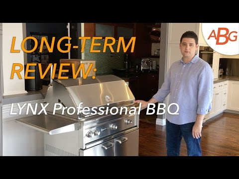 LYNX BBQ GRILL REVIEW, 3 YEARS OUTSIDE, UNCOVERED – L36PSFR-2