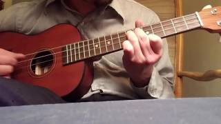 Gloria in excelsis deo, on a ukulele! (Plus a very ominous improv in the middle!)