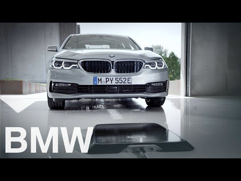 BMW 530e Is The First Ever Car That can Charge Wirelessly