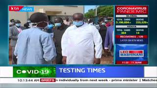 Busia County to carry out mass testing of truck drivers