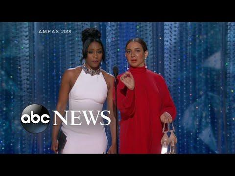 Tiffany Haddish and Maya Rudolph shine at the 2018 Oscars