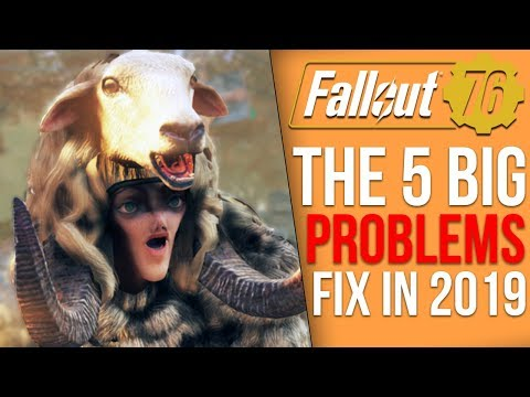 The 5 Big Problems Fallout 76 Needs to Fix in 2019
