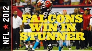 Carolina Panthers vs. Atlanta Falcons 2012: Late Fumble Costs Panthers, Falcons Improve to 4-0 thumbnail