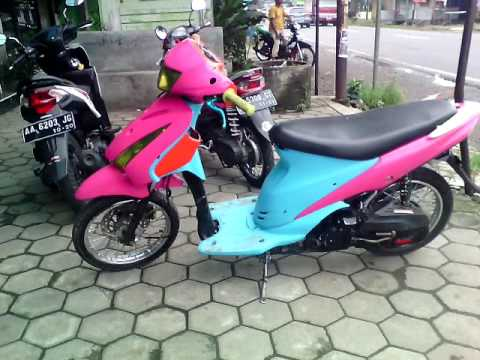 Modifikasi Motor Spin Terbaru ( Thailook & Body Potong ) Suzuki Indonesia Mp3