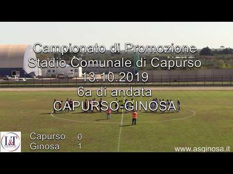 Preview video CAPURSO-GINOSA 0-1 Espugnato anche il comunale di Capurso con un rigore di Loconte