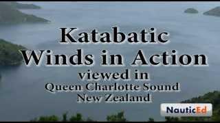 Katabatic Wind Phenomenon Captured on Video