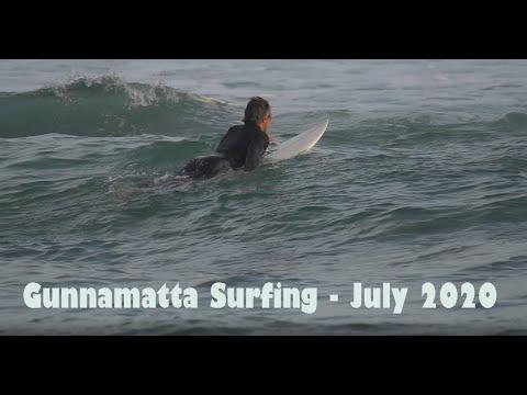 Fun surf at Gunnamatta