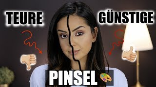 Günstige vs. Teure Pinsel I Drogerie vs. High End I ZOEVA, BhCosmetics, Sigma,...I Tamtam Beauty