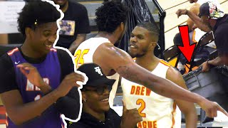 Drew League Team QUITS in BLOWOUT VS Josh Christopher! Crowd BEGS Them To Forfeit!