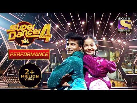 अपने अलग अंदाज में किया  Florina और Tushar ने Perform    Super Dancer 4   सुपर डांसर 4