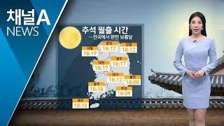 [날씨]전국서 환한 보름달…선선한 연휴 | 뉴스A | Kholo.pk