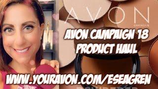 Avon Campaign 18 2020 Product Haul