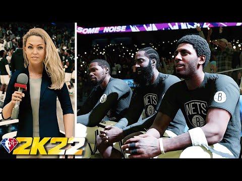 Gameplay de NBA 2K22