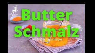 Butterschmalz selber machen-Ghee selber machen-geklärte Butter