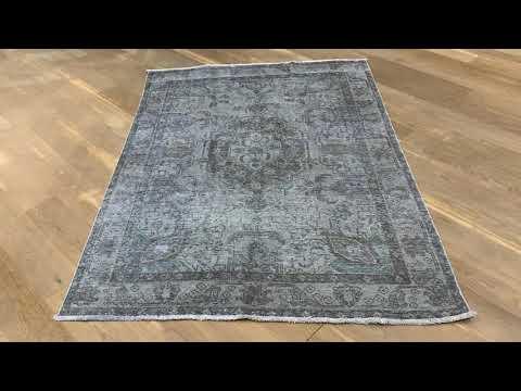 remade Vintage Teppich Grau 19455