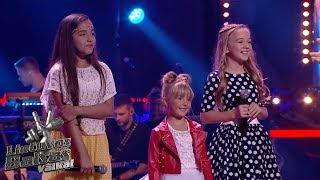 Goda, Nikolė, Alija - Senieji Vilniaus stogai   Battles   The Voice Kids Lithuania S01